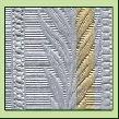BSP02 Bukettschleife Papier grau
